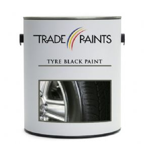 Tyre Black Paint | www.paints4trade.com